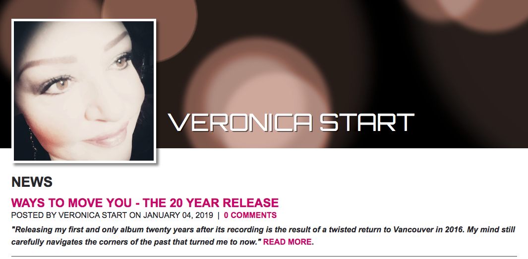 Veronica Start's new album 'Ways to Move You' Out Now